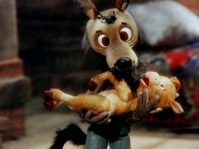El lobo y el ternero - Вовк і телятко