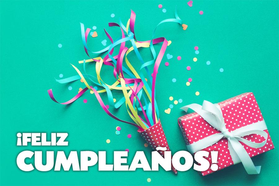 Привітання з днем народження іспанською мовою з перекладом - ¡Feliz cumpleaños! - Анімовані листівки, побажання, відео-привітання